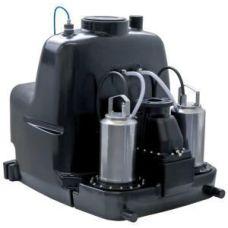 Напорная установка для отвода сточных вод с 2 встроенными насосами XL 2/10