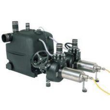 Напорная установка для отвода сточных вод с 2 - мя насосами XXL 1040-2/3,9