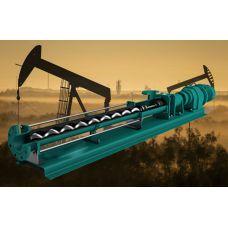 Горизонтальный одновинтовой насос 4 бар, 0,5 м3/ч, 0,55 кВт