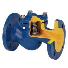 Клапан обратный подпружиненный, Py16, ДУ100